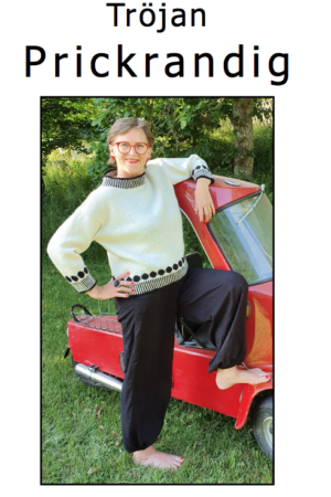 tröjan prickrandig mönster