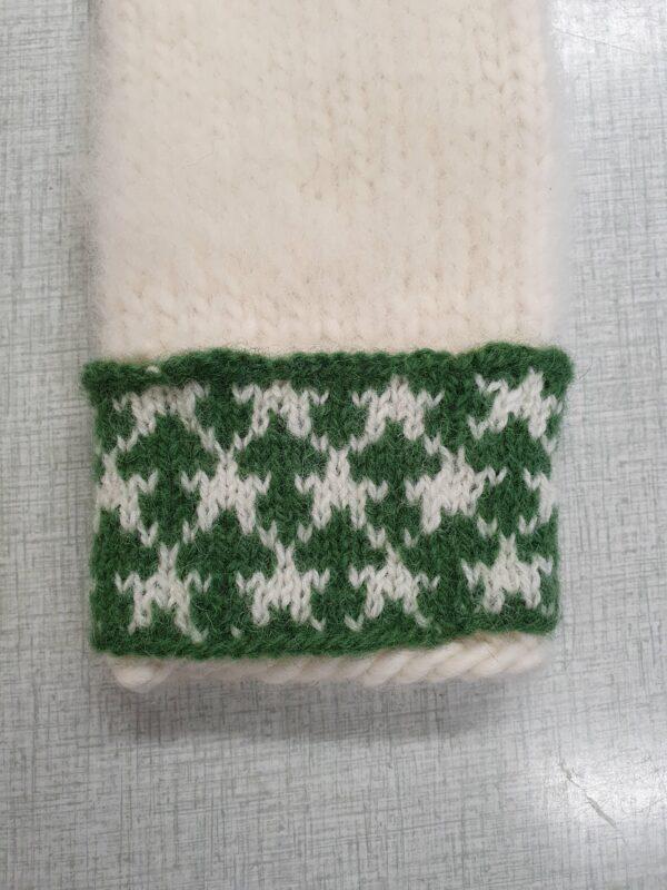 nyårsstjärna grön